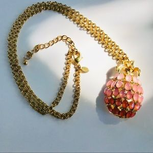 Chico's Pineapple Pendant Necklace